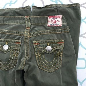 "💙👖💚TRUE RELIGION! AWESOME 25 0 32"" MINOR REPAIR"